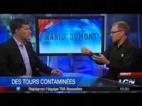 Légionelle tours de refroidissement: Entrevue de TGWT avec TVA - Mario Dumont