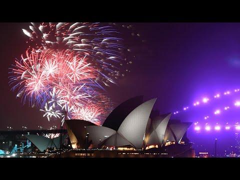 Watch Australia's 2021 Sydney Harbour New Year fireworks celebrations