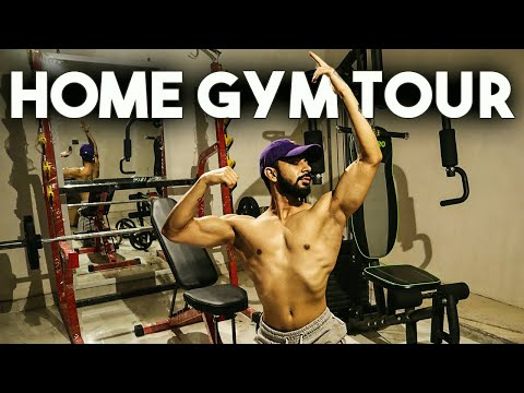 My NEW Home Gym Tour | AESTHETICALLY