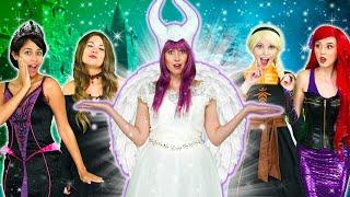 Baixar NICE MALEFICENT MAGIC SPELL. With Ariel, Belle, Moana, Jasmine. Totally TV Parody.