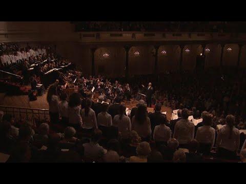 Bach's St. Matthew Passion - Iván Fischer & Concertgebouworkest