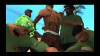 Grand Theft Auto San Andreas Extra bonus intro (revealing) part 1