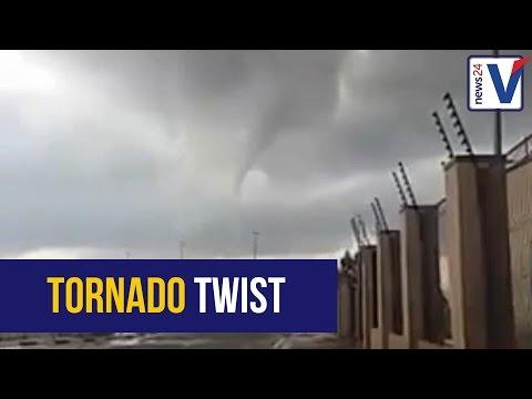 WATCH: Tornadoes twist through Gauteng