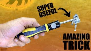 Make a Homemade Magnętize a Screwdriver Tool