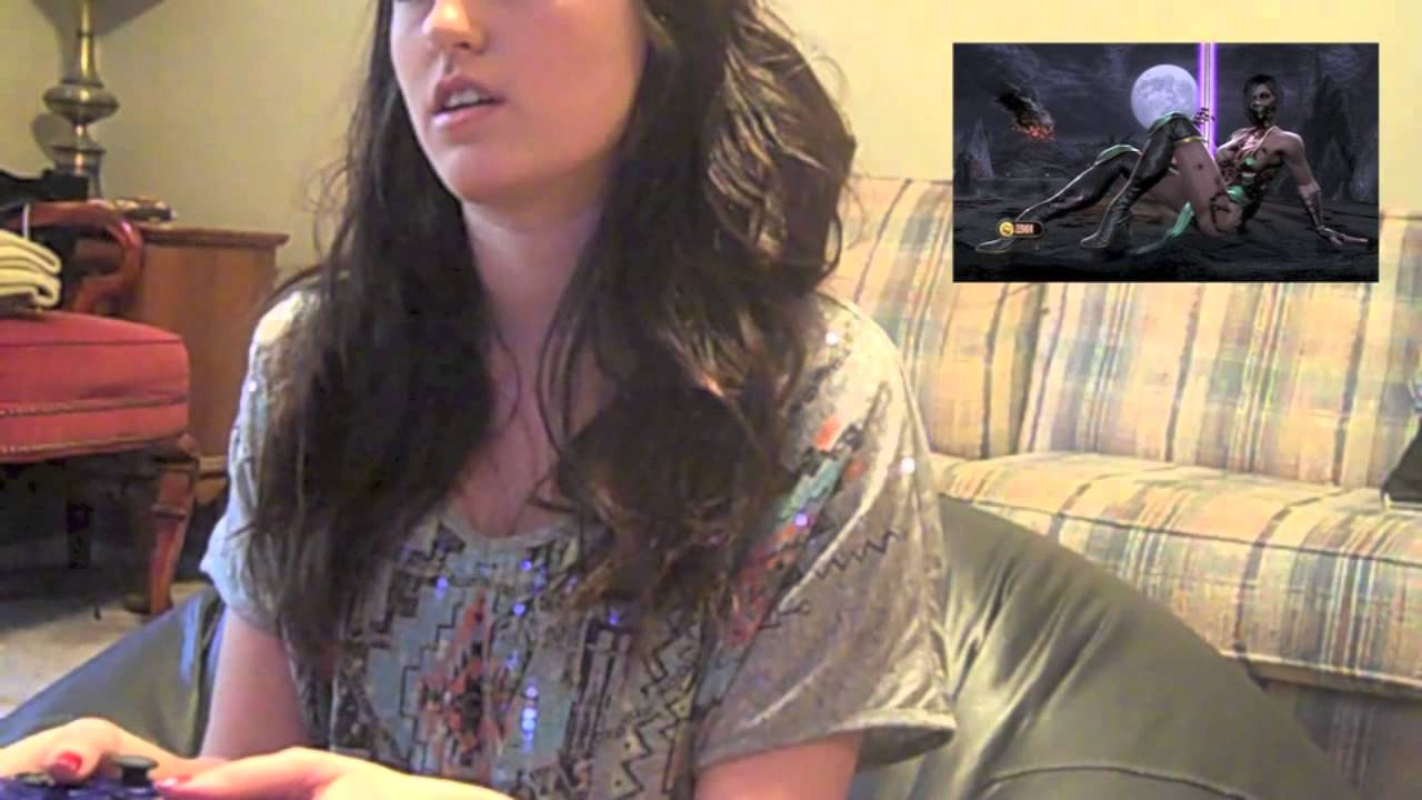 Cute Girls Play Videogames Mortal Kombat Youtube