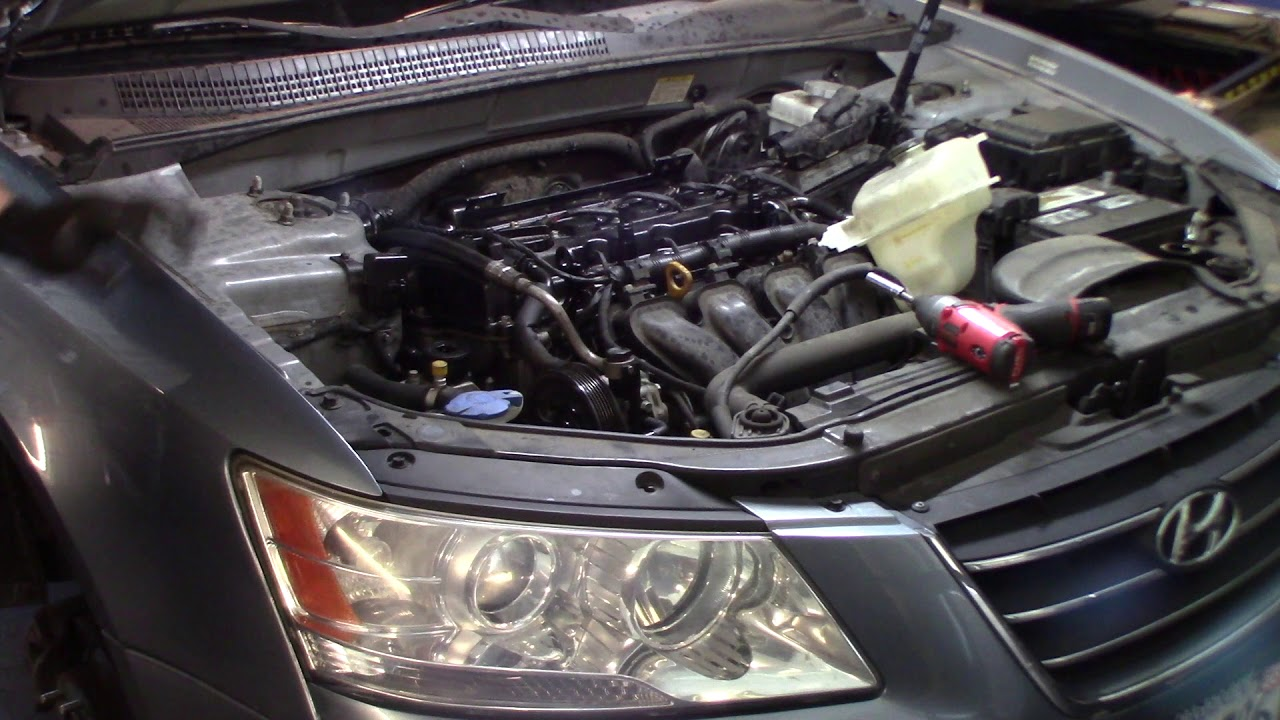 2009 hyundai Sonata GLS 2 4 Timing Chain replacement