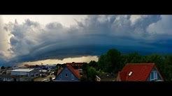UNWETTER 22./23.Juli über Ostfriesland