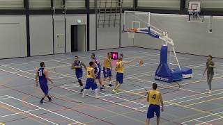 12 October 2019 MSV basketbal MSE1 vs Rivertrotters MSE2 90-49 2nd period
