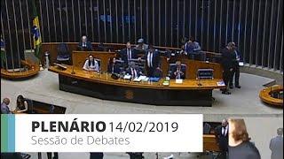Plenário - Sessão Não Deliberativa de Debates - 14/02/2019 14:00