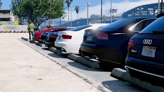 GTA V | AUDI CARS MEET IN GTA 5