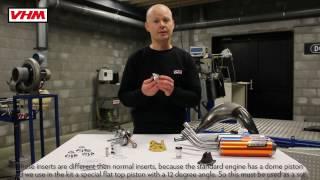 VHM Upgrade kit KTM 85SX '13-17 / Husqvarna TC85 '14-17