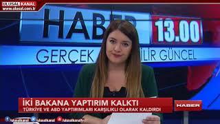 Haber 13- 3 Kasım 2018- Seda Anık- Ulusal Kanal