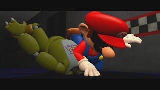Mario Juega : Five Nights At Freddy's ( TERMINA MATANDO A LOS ANIMATRONICOS !! )