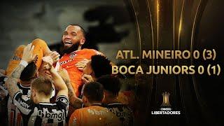 Atl.Mineiro vs. Boca Juniors [0(3)-0(1)]   RESUMEN   Octavos de Final   CONMEBOL Libertadores 2021