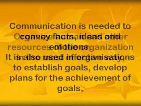 goals of business communication