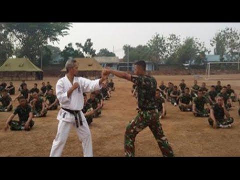 Kopassus Hajar Master Karate dari Jepang Hanya Sekali Pukul