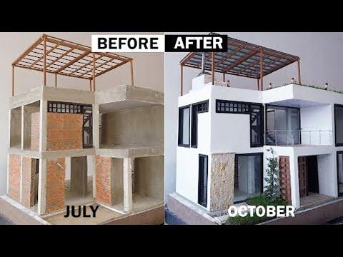 Amazing Mini house in bricklaying---- mini casa en mampostería--OUROBOROS ARQ