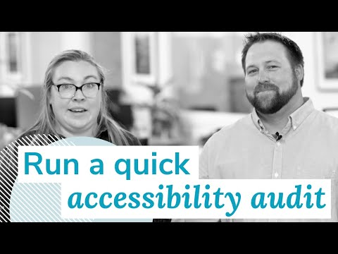 How to Run a Quick Accessibility Audit | Monday Marketing Minute by Oneupweb