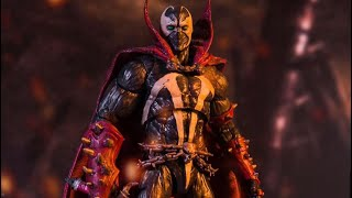 Official look at McFarlane Toys Mortal Kombat Spawn figure