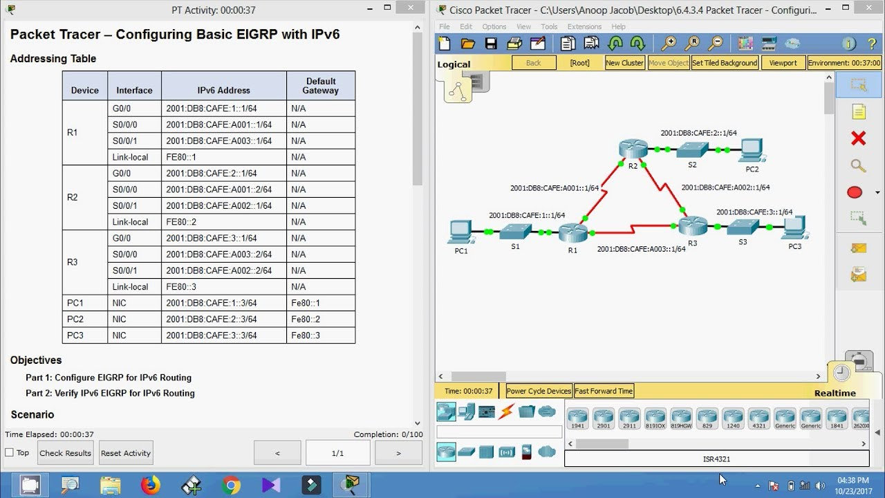 cisco packet tracer 6.4.3.4 answers