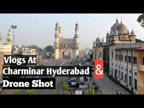 Charminar hyderabad // Drone shot // vlogs mannamalakar // this year full hd 1920x1200 // 14-08-2019
