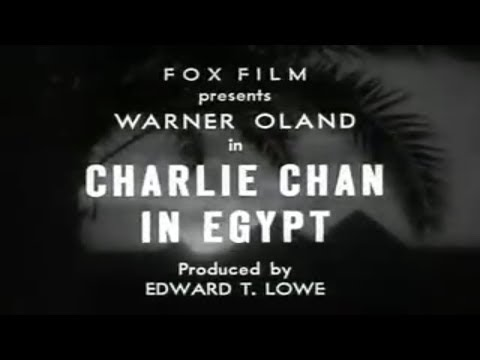 Charlie Chan in Egypt, 1935