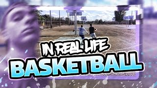FACE REVEAL & IRL BASKETBALL 1v1 w/ CRAZY WATER BALLOON PUNISHMENT