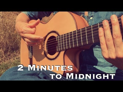 2 Minutes to Midnight - IRON MAIDEN (Acoustic) - Classical Fingerstyle Guitar by Thomas Zwijsen