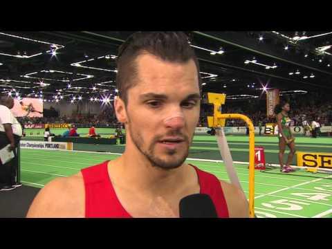 IAAF WIC Portland 2016 - Jakub HOLUSA CZE 1500m Men Final SILVER