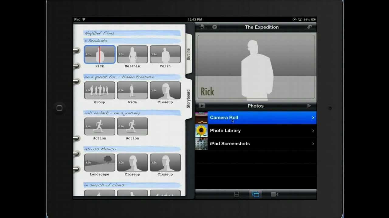 iMovie Trailer Tutorial for iPad - YouTube