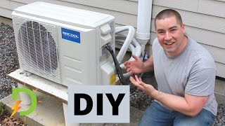 Installing My Own Mini-Split Heat Pump, DIY