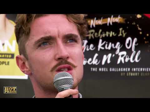 David Keenan at The Hot Press' Speakeasy, All Together Now 2018