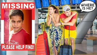 Our SON FERRAN Went MISSING At The Airport!! WHERE IS HE!? | The Royalty Family