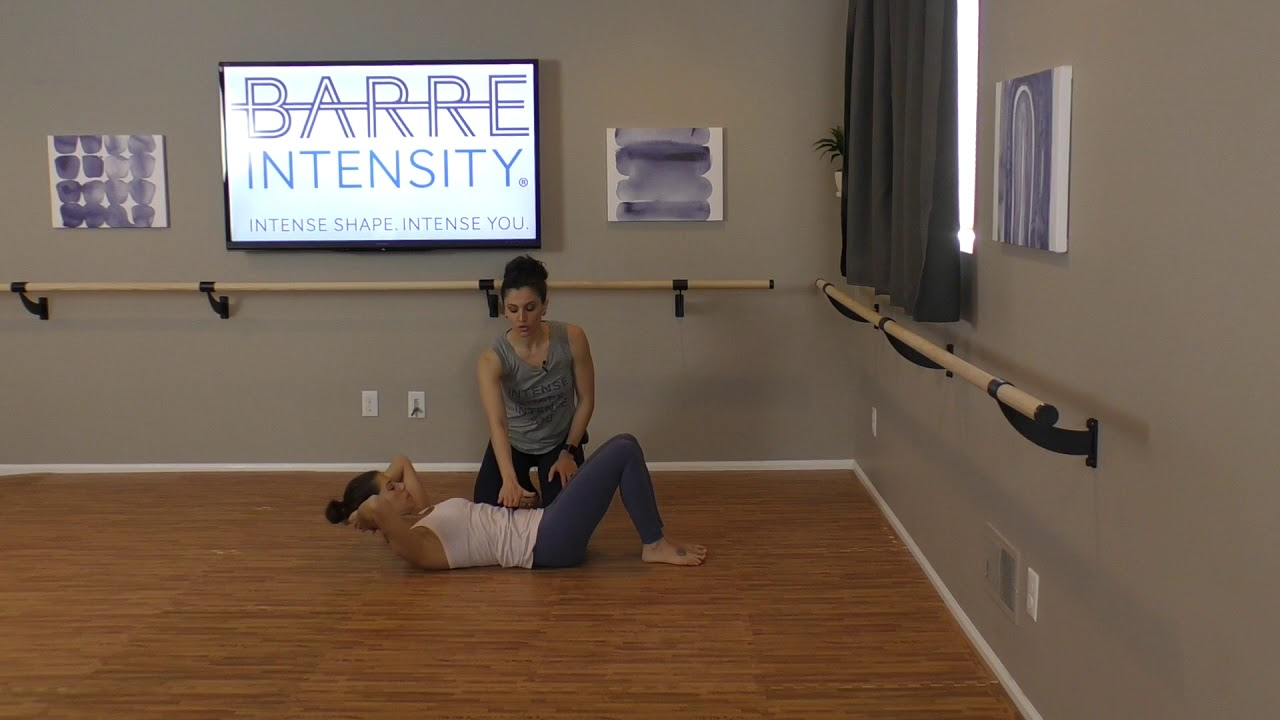 Five Cues To Deepen Your Abdominal Crunch Exercise Barre
