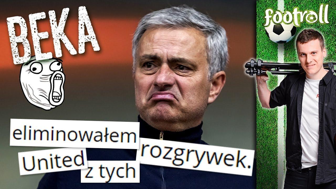 BEKA z Mourinho! xD United odpada z Ligi Mistrzów