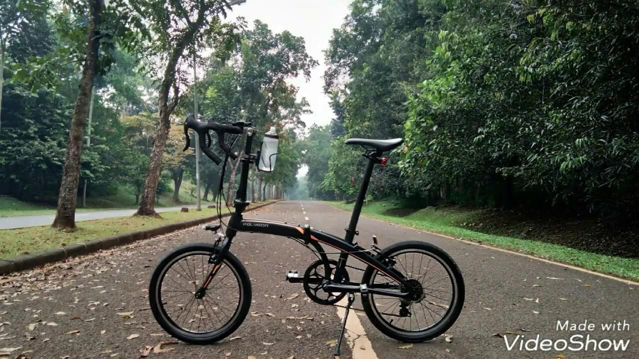 Sepeda Lipat Polygon Gowess Depok Bogor YouTube