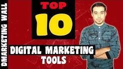 Top 10 Digital Marketing Tools   Free digital marketing tools 2020   Online marketing tools