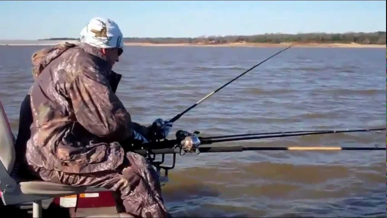 Crappie fishing sardis lake ms feb 25 2012 youtube for Crappie fishing in mississippi