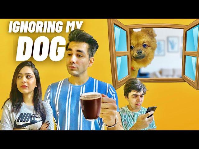 IGNORING MY DOG FOR 24 HOURS | Rimorav Vlogs