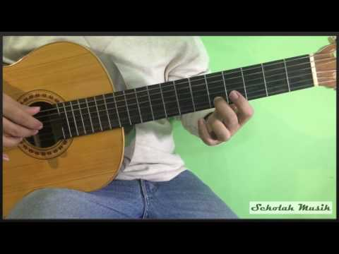 Belajar Lagu Dangdut Alamat Palsu - Ayu Ting Ting Di Gitar