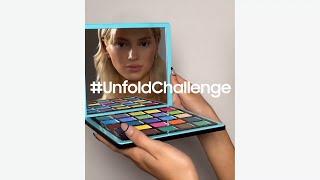 #UnfoldChallenge - Compilation   Samsung