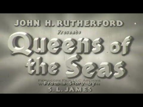 QUEENS OF THE SEAS OCEAN LINERS RMS QUEEN MARY & QUEEN ELIZABETH in WWII 3473