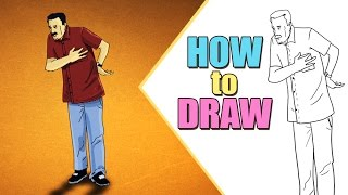 How to draw A Gentleman | Drawing for beginners