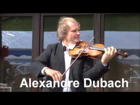 """Paganini """"Violin Concerto No 5"""" Alexandre Dubach"""