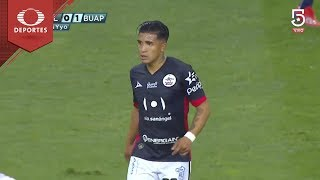 Gol de Michaell Chirinos | Chivas 0 - 1 Lobos BUAP | Clausura 2019 - Jornada 13 | Televisa Deportes