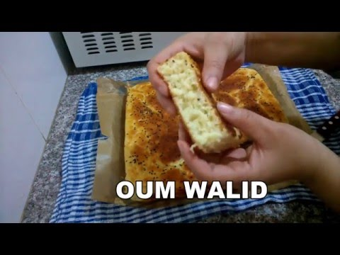 شهيوات ام وليد خبز الدار بدون تعب