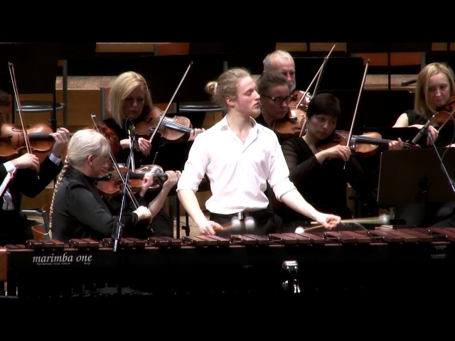 Emmanuel Séjourné - Concerto for Marimba and Strings, Gregor Hrovat
