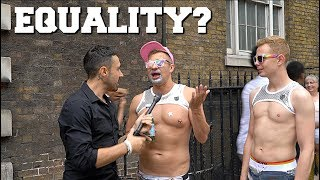 Vegan Activist Crashes The London Pride March