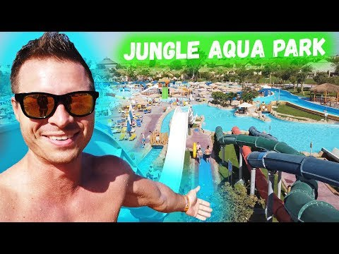 ЛУЧШИЙ АКВАПАРК В ХУРГАДЕ. Обзор отеля Jungle Aqua Park Египет Хургада