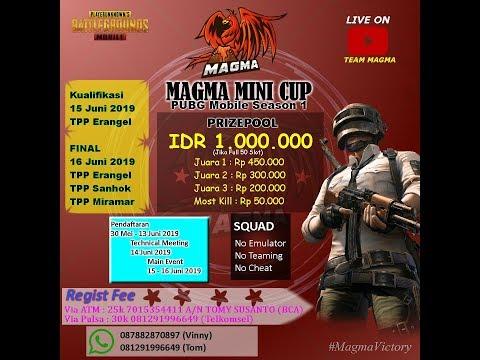 Magma Mini Cup Tournament Season 1 [ FINAL ]